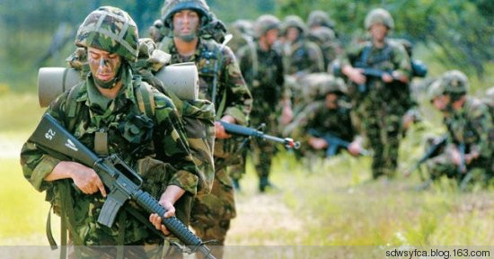 世界十大军事强国,中国排第几?