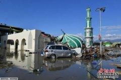 印尼苏拉威西海啸造成2045人遇难 搜救行