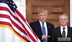 """特朗普: 防长马蒂斯""""可能""""离开"""