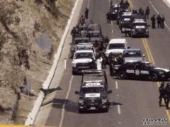墨西哥毒贩全歼重装特警, 火力压制, 狙