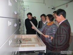 甘婉瑜副巡视员带队到海珠区档案局开展