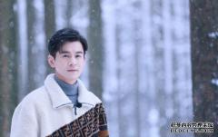 乔振宇 冬月时节黄州行, 恰逢雪堂披银