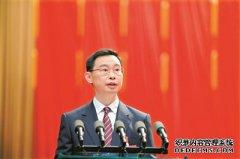 广州市十五届人大四次会议开幕 张硕辅刘