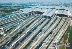 广州南站高铁停车量居全国之首 客流量居