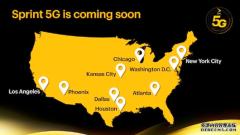Sprint宣布将于5月推出5G网络 演示速度达