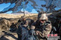 高原反恐演练瞄准实战 解放军驻藏某旅开