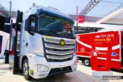 欧曼EST卡车2.0闪耀北京车展 福田戴姆勒三