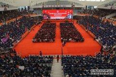 上海交大校长林忠钦在2019年研究生毕业典