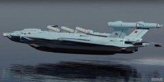 500吨飞行器配备8台发动机 让美军航母如