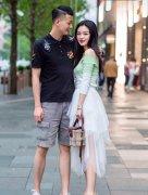 街拍,潇洒漂亮的时尚情侣,小鸟依人的