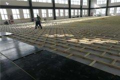子洲室内学校体育场专用木地板包工包料
