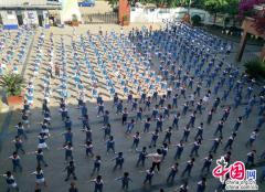 龙泉驿大面小学活跃校园文化 体验体育乐