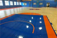 潍坊市橡木 体育馆木地板 施工工序流程