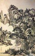 钱维城的绘画体现了江南的人文传统