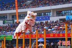 通讯:广东佛山体育援疆助醒狮文化扎根