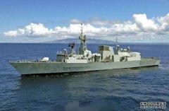 加拿大军舰强闯海峡遇险,大批052D虎视眈