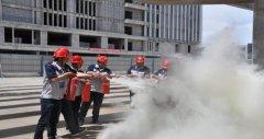 巴彦路二分部组织开展消防演练活动