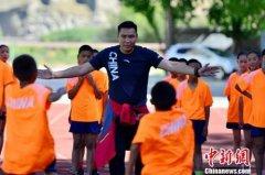 奥运及世界冠军西藏行 走进日喀则进行体