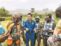 军事组组长窦孝宇:维和直升机分队里的