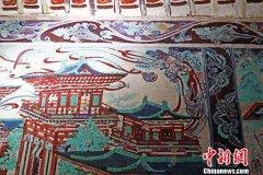"""千年敦煌壁画演绎中国建筑变迁 """"古为今"""