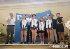 中法国象对抗赛 中国女子少年队优势明显