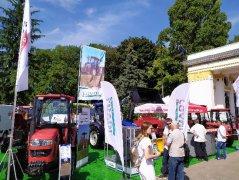 雷沃盛装亮相2019乌克兰国际农业博览会备