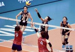 世界女子联赛澳门站:中国胜韩国