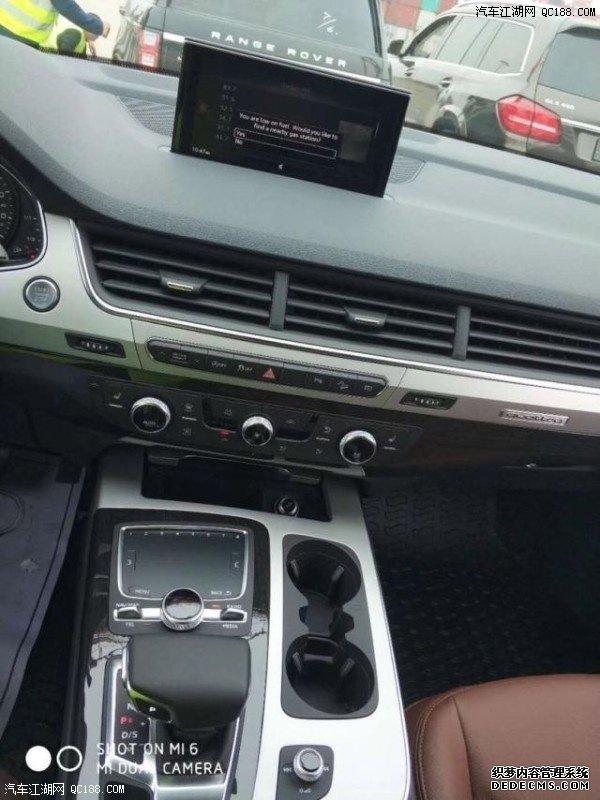 19款平行进口奥迪Q7性能体验 豪华SUV