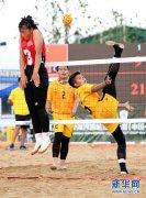 2019亚洲沙滩藤球锦标赛女子团体赛:中国