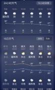 """二三四五天气王""""趋势预报"""" 看"""