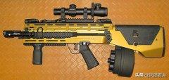军事丨美军762无托结构M14步枪,宣传有多