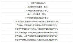 广东8家医院入选建设国家医学中