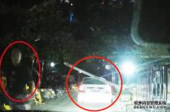 连续6次猛撞前车,2名司机当街扭