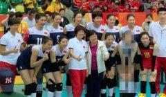 《中国女排》花絮照惠若琪被马赛克 天津