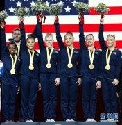 第49届世界体操锦标赛女子团体决赛:美