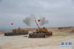 土耳其对叙利亚北部地区展开地面军事行