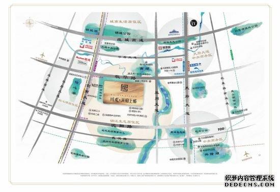 天府新区年度必摇:锦江生态带350亩人文大盘登场