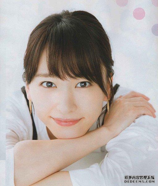 日系微笑女神新垣结衣太甜美 她的百搭妆容是重