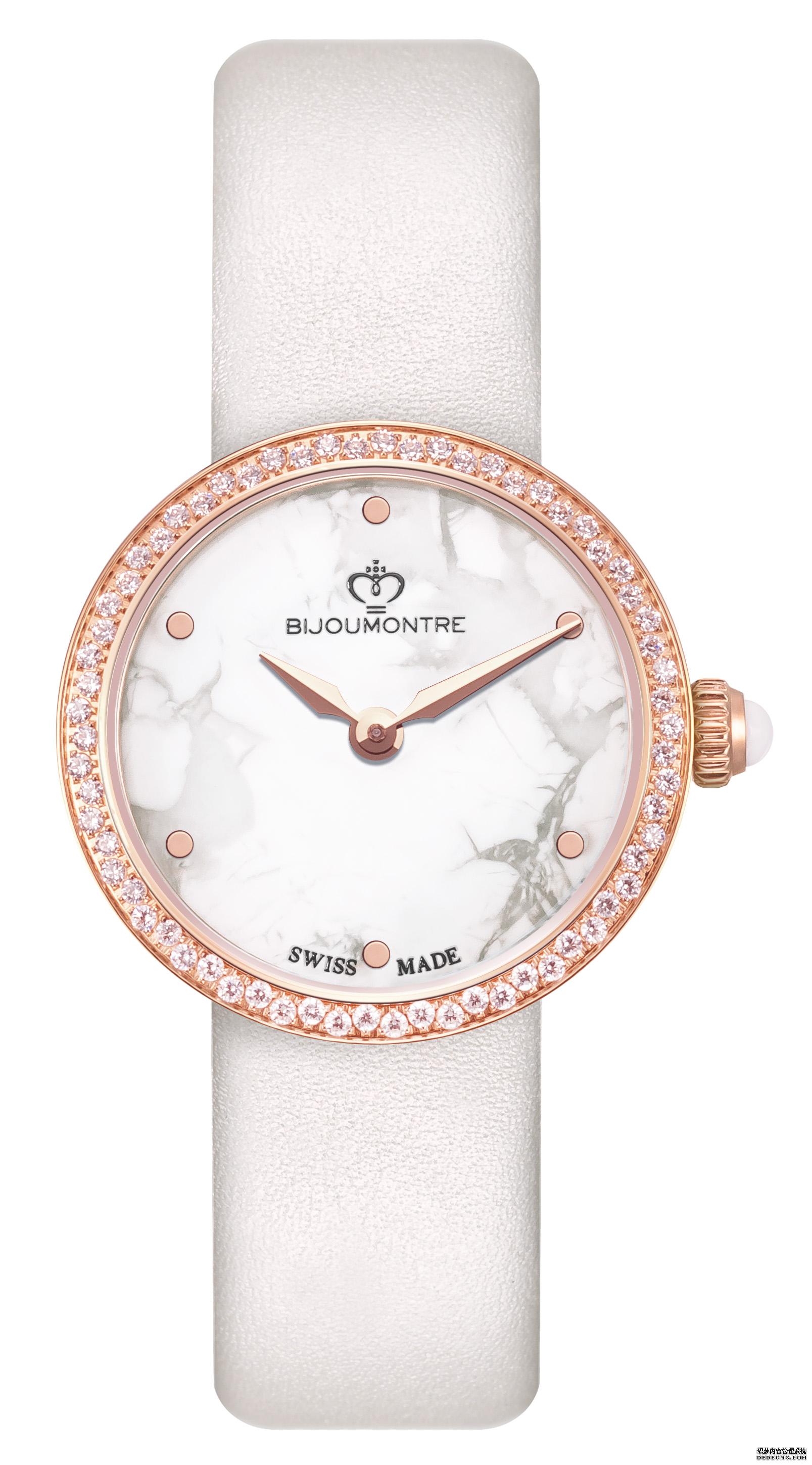 时尚女性百搭最佳饰品,瑞士宝爵腕表展现你由